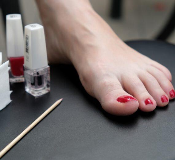 Żel do paznokci u nóg